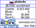 User signature graphic BOINC Stars