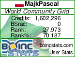 """MajkPascal - World Community Grid"""